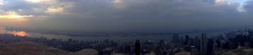 Petit panorama depuis l'Empire State Building
