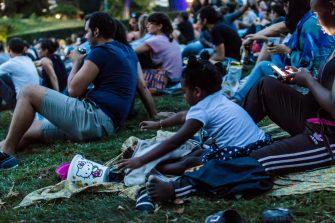 Festival Silhouette