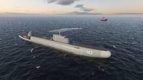 روسيا تكشف عن سفينة حربية غطّاسة