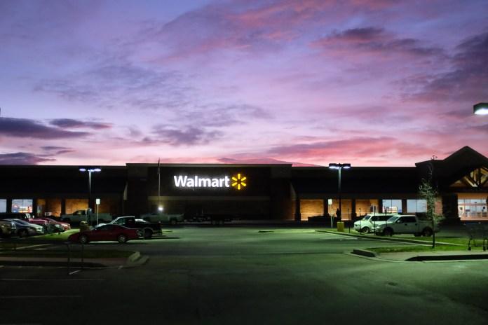 Walmart parking lot - Bozeman, Montana