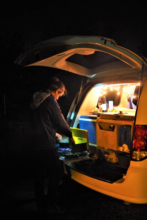 La cuisine de nuit