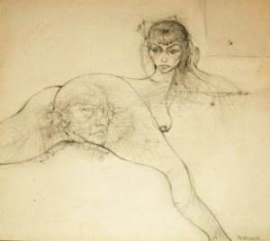 hans bellmer - drawing - le bastart