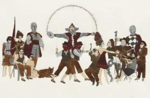 marcel dzama - great gesture - le bastart