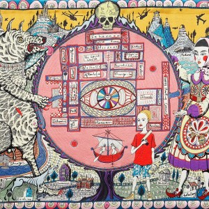 grayson perry - map truths - le bastart