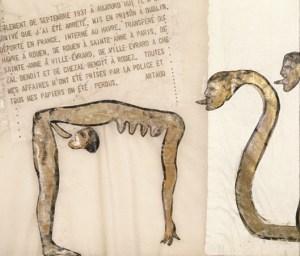 nancy spero - codex artaud vii - le bastart