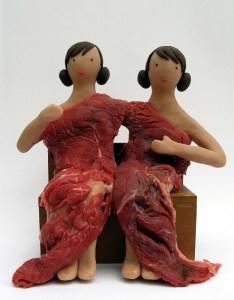 rosalia banet - vestido carne - le bastart
