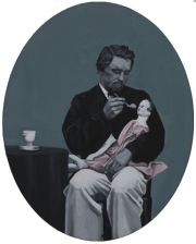 cristina toledo - feeding a doll - le bastart