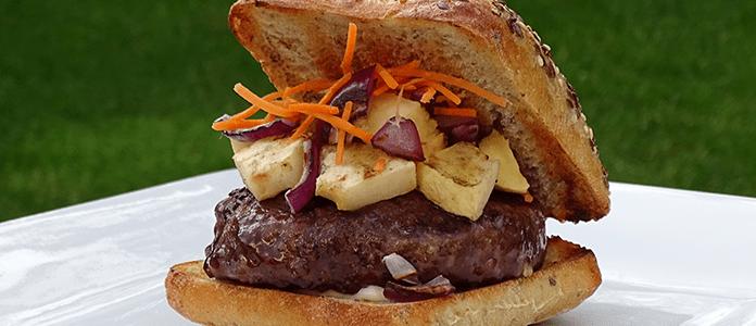 Dry-aged hamburger