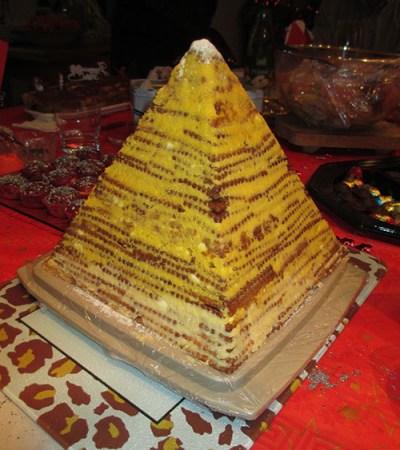 pyramide gâteau aux petits beurres