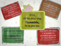 citations, projet yarn bombing
