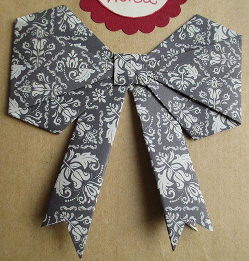noeud en origami
