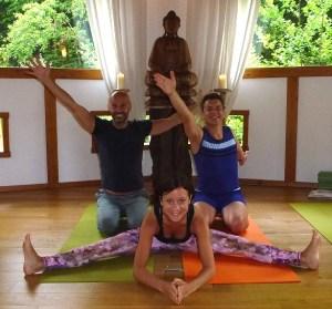 Yogalehrer unter sich bei Rüdiger Dahlke