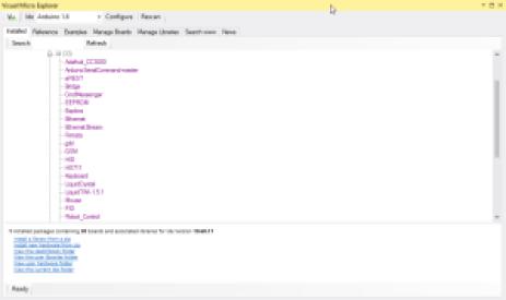 Ecran Visual Micro Explorer 300x178 - Visual Micro pour coder Arduino avec Visual Studio