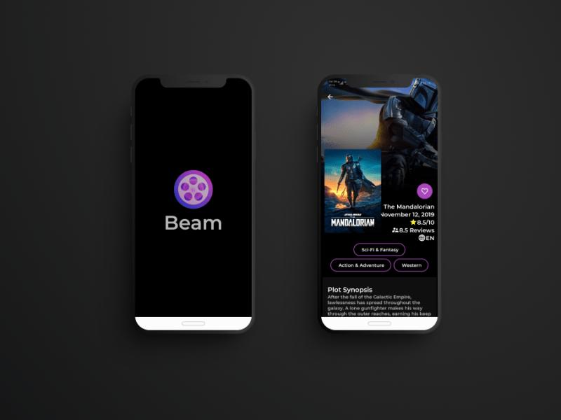 Beam Movie App