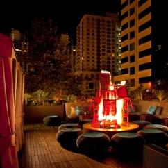 Sofa Rocking Chair Vault Black Leather Corner Bed W Hotel, California : Lebello.com