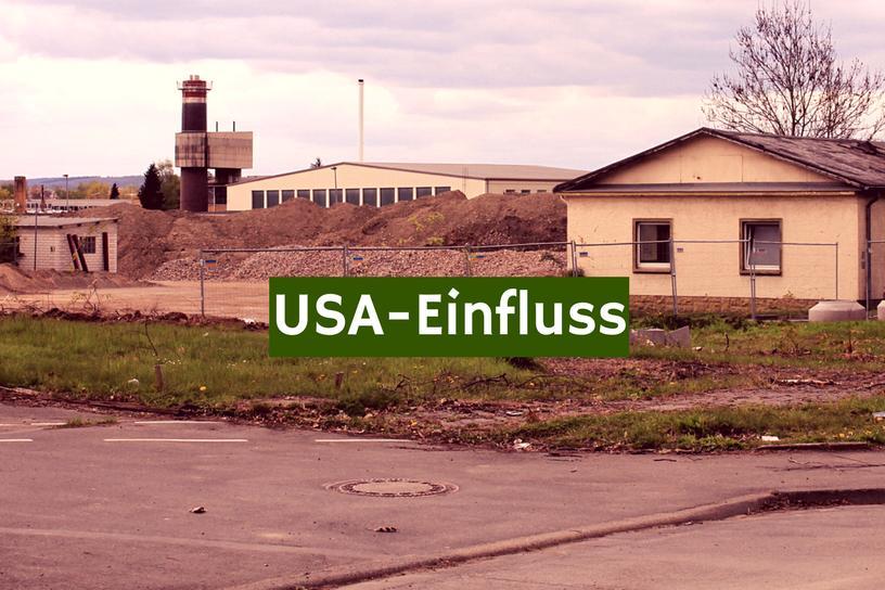 USA Einfluss Gießen