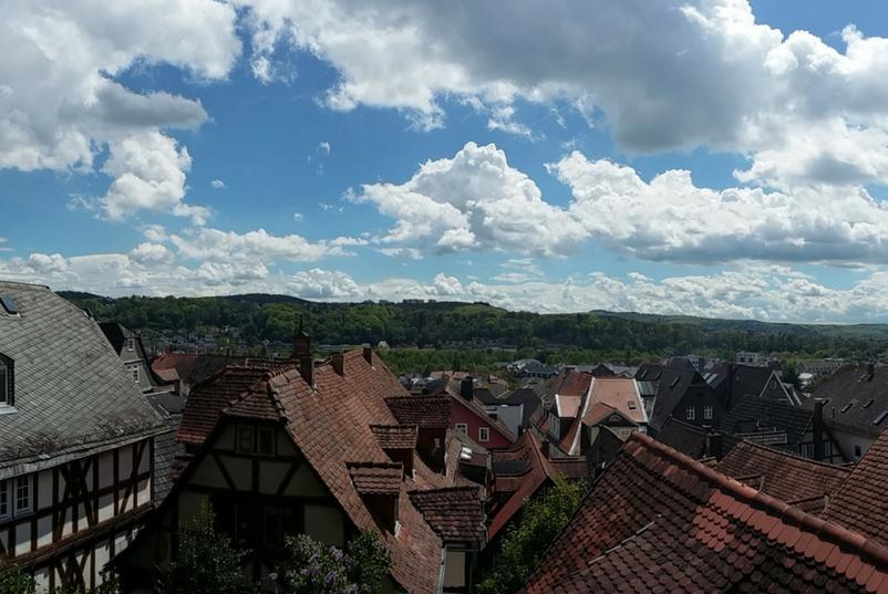 Marburg von oben
