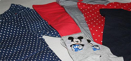 Babykleidung in 62/68 eingekauft - Leggings, Hose und Strumpfhose