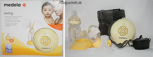 medela Swing - das Set