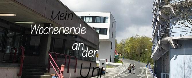 Wochenende in Bildern - Wochenende an der Uni - www.helden-familie.de
