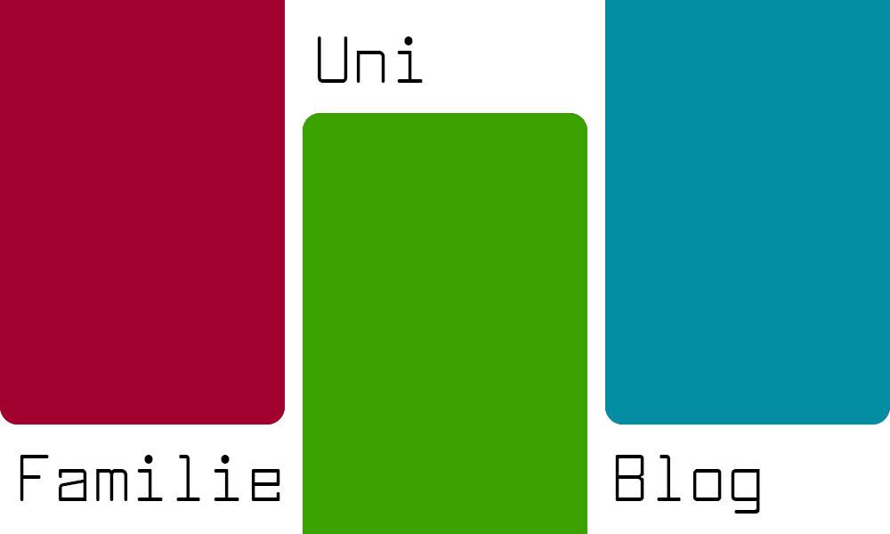 Familie, Uni, Blog