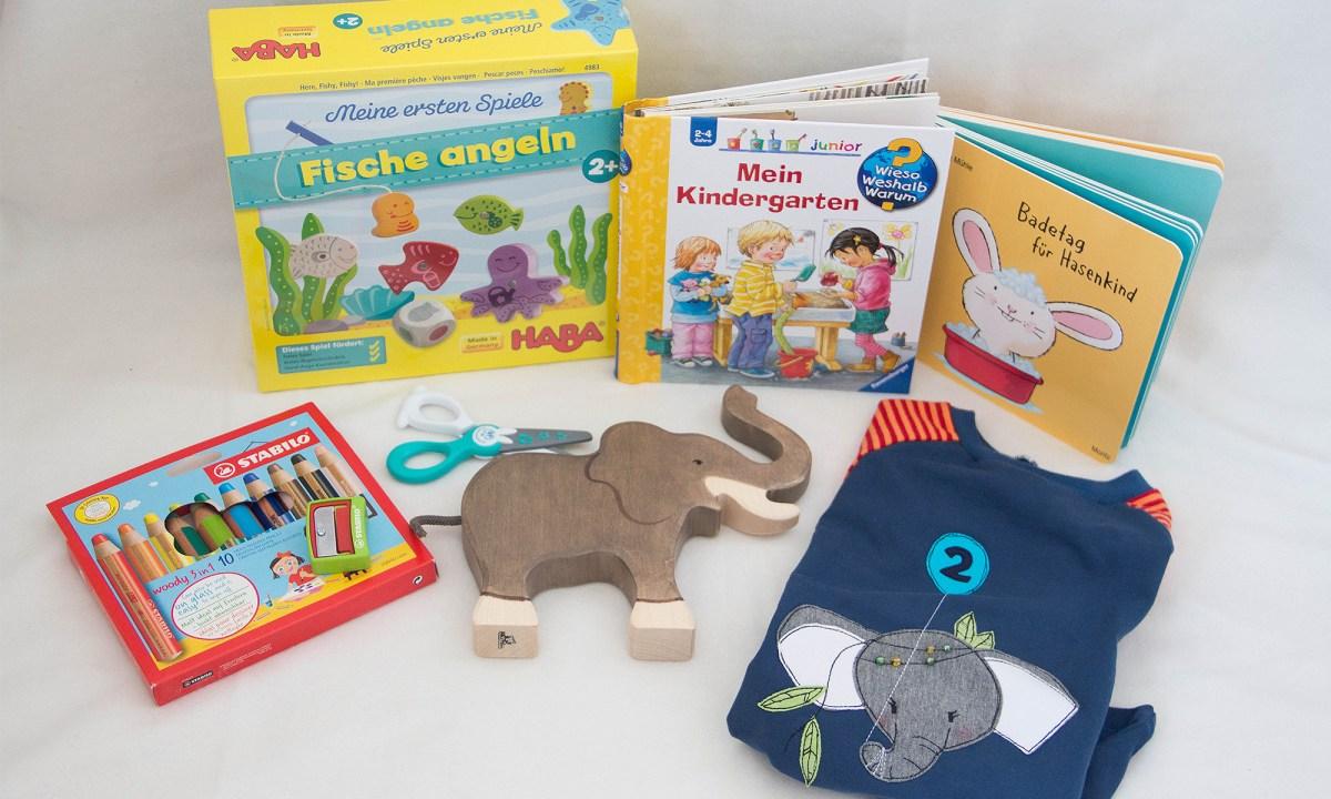 Geschenke für 2-jährige: Kreatives, Bücher und Spielzeug