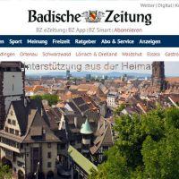 Auf verschlungenen Pfaden - by Badische Zeitung Germany