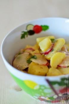 Kartoffel-Radieschen-Salat