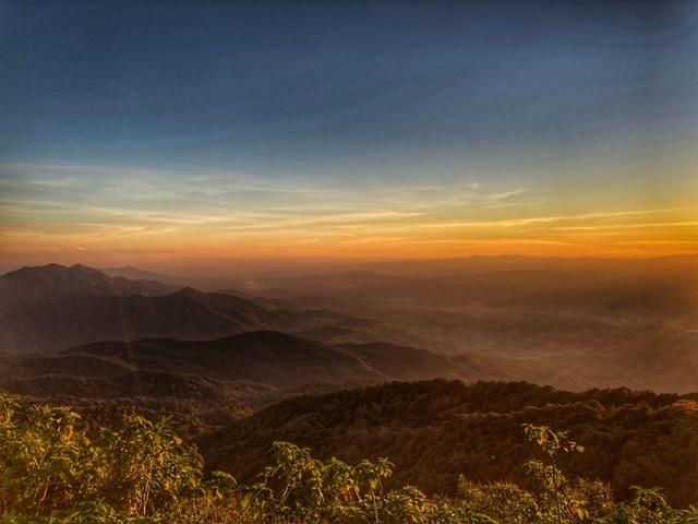 Doi Inthanon Thailands höchster Berg