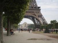 Eiffelturm von nah...