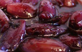 Portweinschalotten