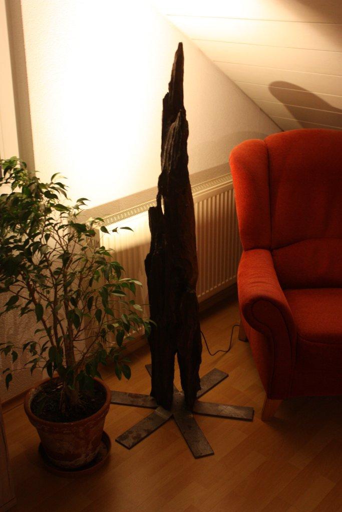 eichenholz-lampe