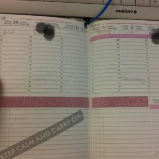 Kalender, x17, dekorieren
