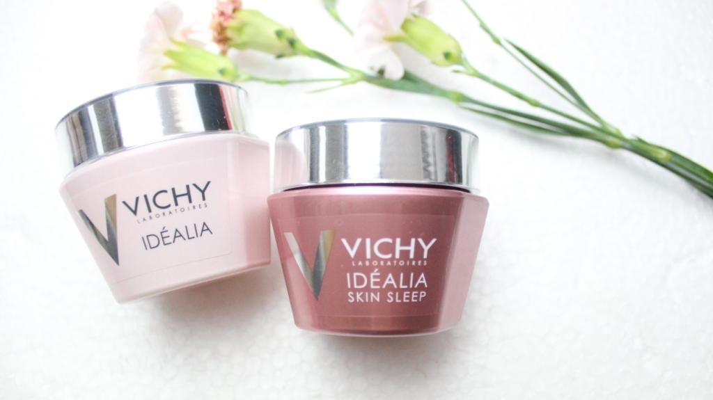 Vichy-idealia-creme-hautpflege-skin-sleep-test-erfahrung