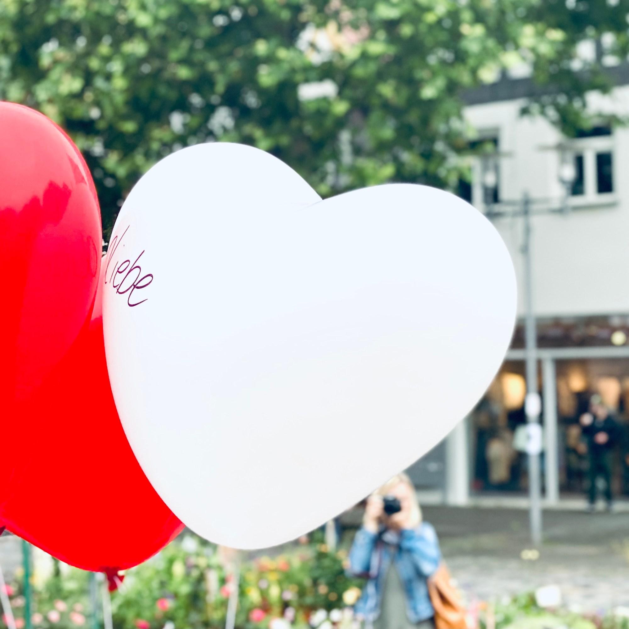 Luftballon Herz