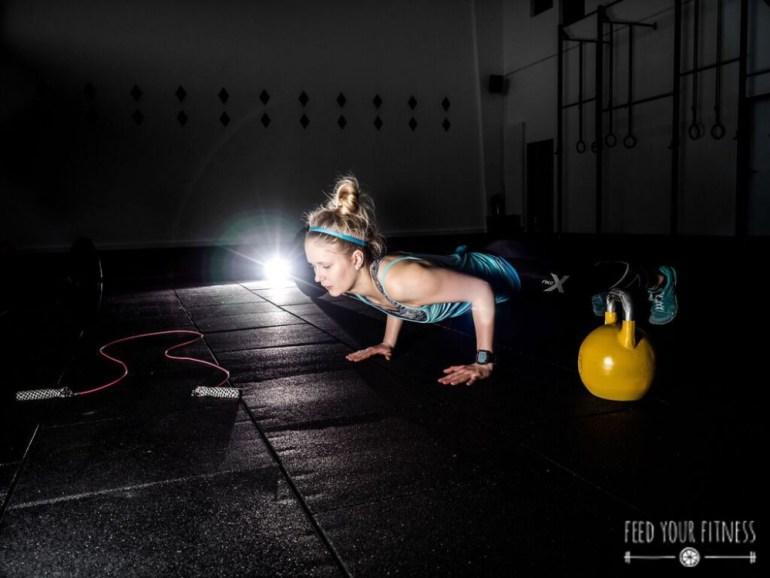 Dein CrossFit Start WOD, AMRAP & andere Vokabeln Push up
