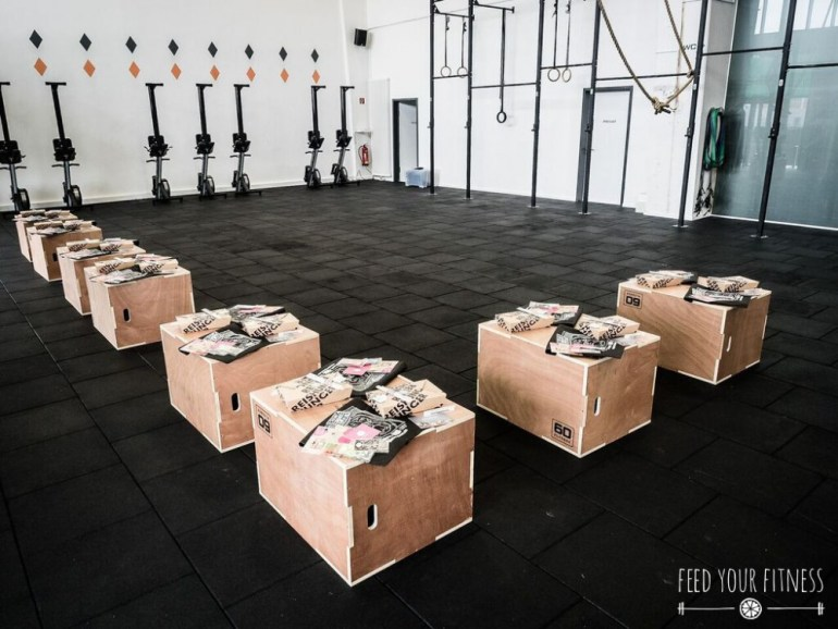 CrossFit Bloggertreffen Goodie Bags Reishunger Lieblingstee