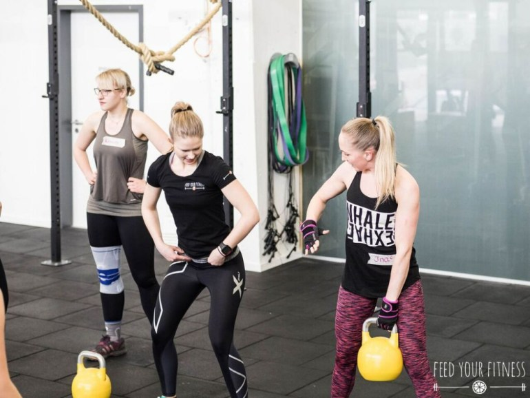 CrossFit Bloggertreffen von FEED YOUR FITNESS Coaching Kettlebell Swings