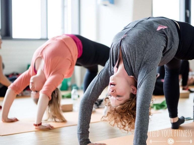 Instagram Bloggertreffen von FEED YOUR FITNESS Yoga Brücke