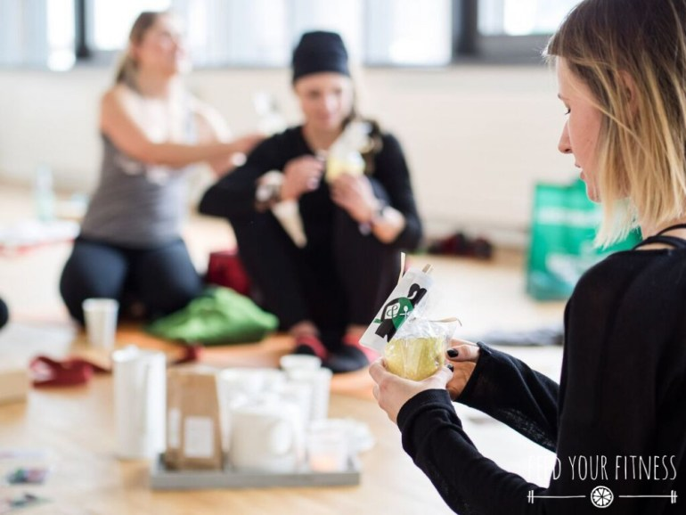 Instagram Bloggertreffen von FEED YOUR FITNESS Yoga Pralinen