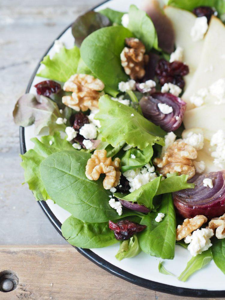 feed your fitness_birnen-feta-salat-mit-cranberries