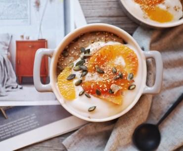 Chai Polenta Pudding