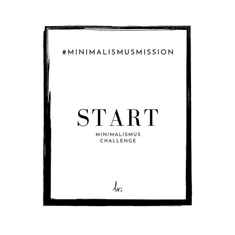 Minimalismus Challenge 10 Tage auf lebensverliebt.de