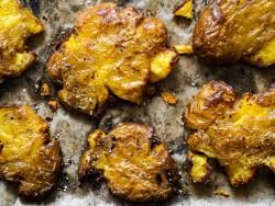 Rezept für Smashed Potatoes auf lebensverliebt.de