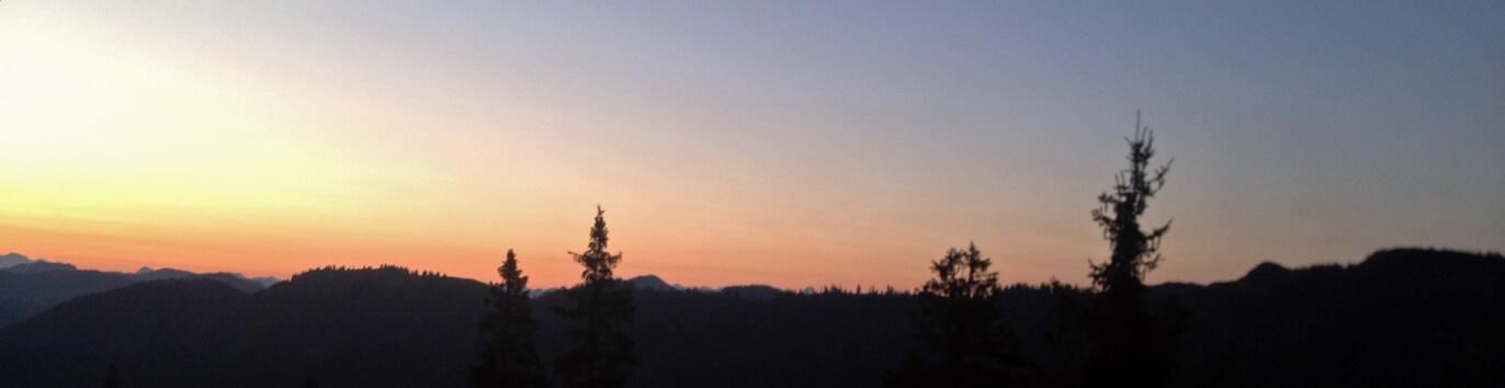 Sonnenaufgang Gufferthütte
