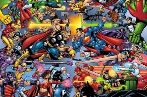 Comics DC Marvel