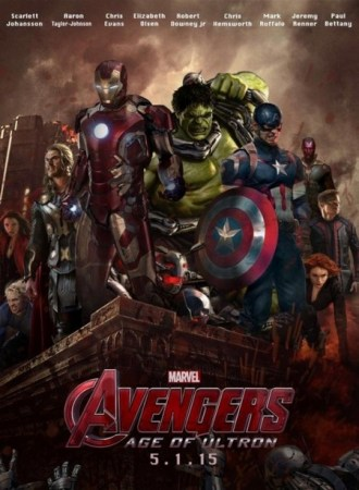 Avengers Age of Ultron Affiche