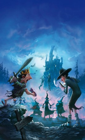 Pratchett sorcières