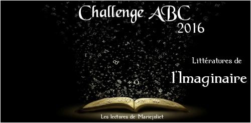 [Bilan] Challenge ABC Littératures de l'imaginaire 2016 : réussi ! (Dionysos)