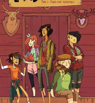 Lumberjanes, tome 1 : L'ange-chat redoutable